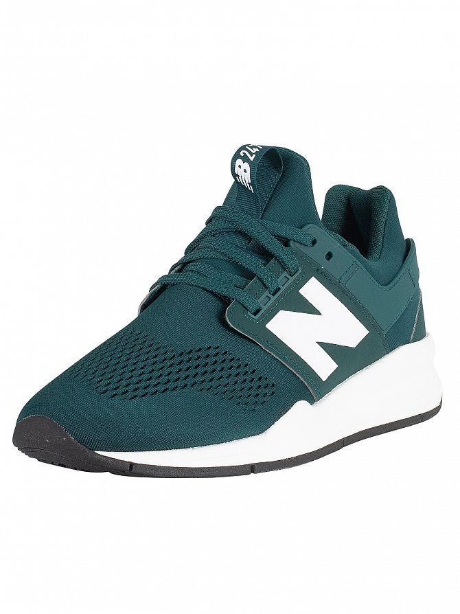 New Balance Dark Green 247 Trainers