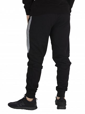 Nicce London Black/Reflective Barrio Joggers