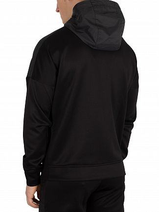 Nicce London Black Circuit Zip Hoodie