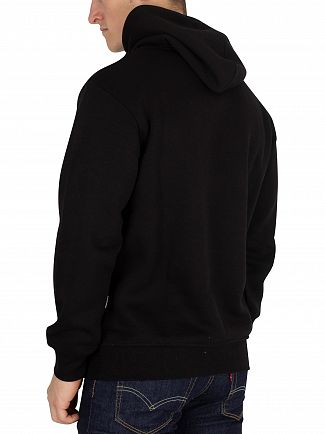 Nicce London Black Original Logo Pullover Hoodie
