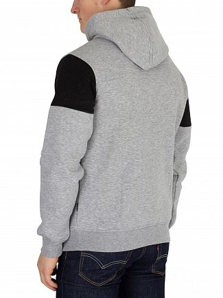 Nicce London Grey Pullover Hoodie