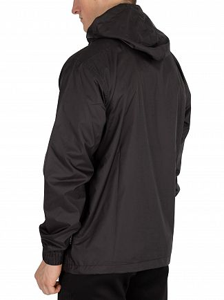 Nicce London Black Windbreaker Jacket