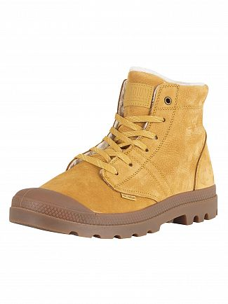 Palladium Amber Gold/Sahara/Mid Gum Pallabrousse LT Leather Boots