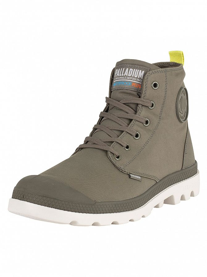 Palladium Olive Night/Moonbeam Pampa Puddle LT WP WB Boots