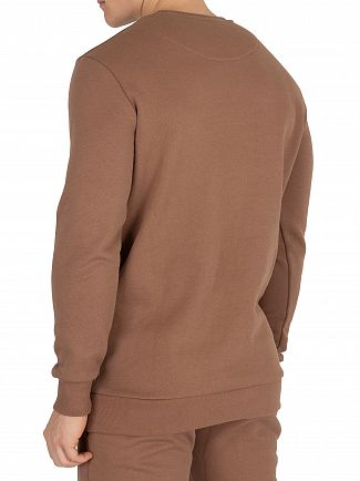 Sik Silk Tan Logo Sweatshirt
