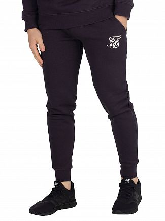 Sik Silk Navy Muscle Fit Joggers