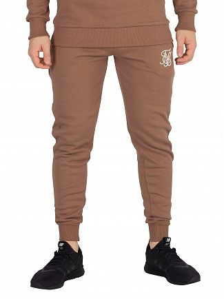 Sik Silk Tan Muscle Fit Joggers