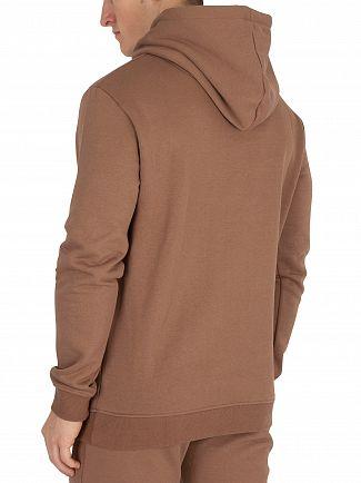 Sik Silk Tan Muscle Fit Pullover Hoodie