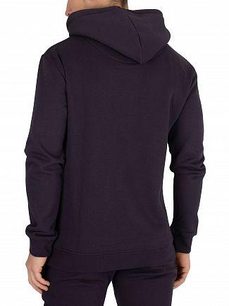Sik Silk Navy Muscle Fit Pullover Hoodie