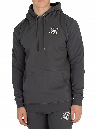 Sik Silk Urban Green Muscle Fit Pullover Hoodie