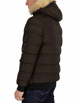 Sik Silk Khaki Parachute Jacket