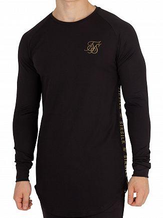 Sik Silk Black/Gold Proformance Sweatshirt