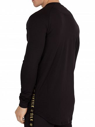 Sik Silk Black/Gold Proformance Sweatshirt