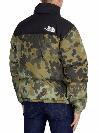 The North Face Camo 1996 Nuptse Jacket