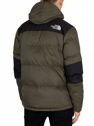 The North Face Green/Black Light Down Jacket