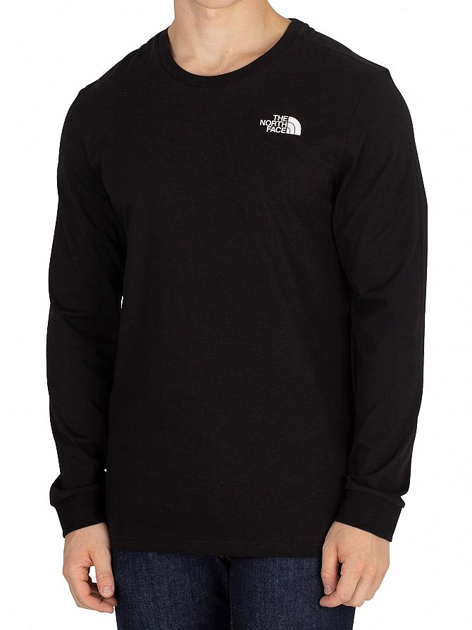 The North Face Black Simple Dome Longsleeved T-Shirt