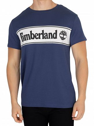 Timberland Dark Denim Cut T-Shirt