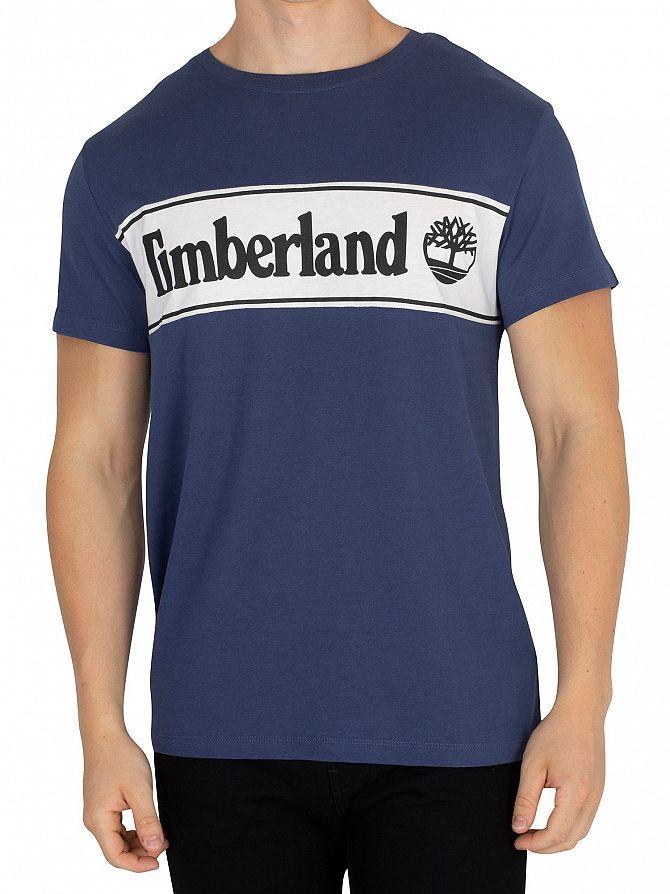 Timberland Dark Denim Cut T-Shirt