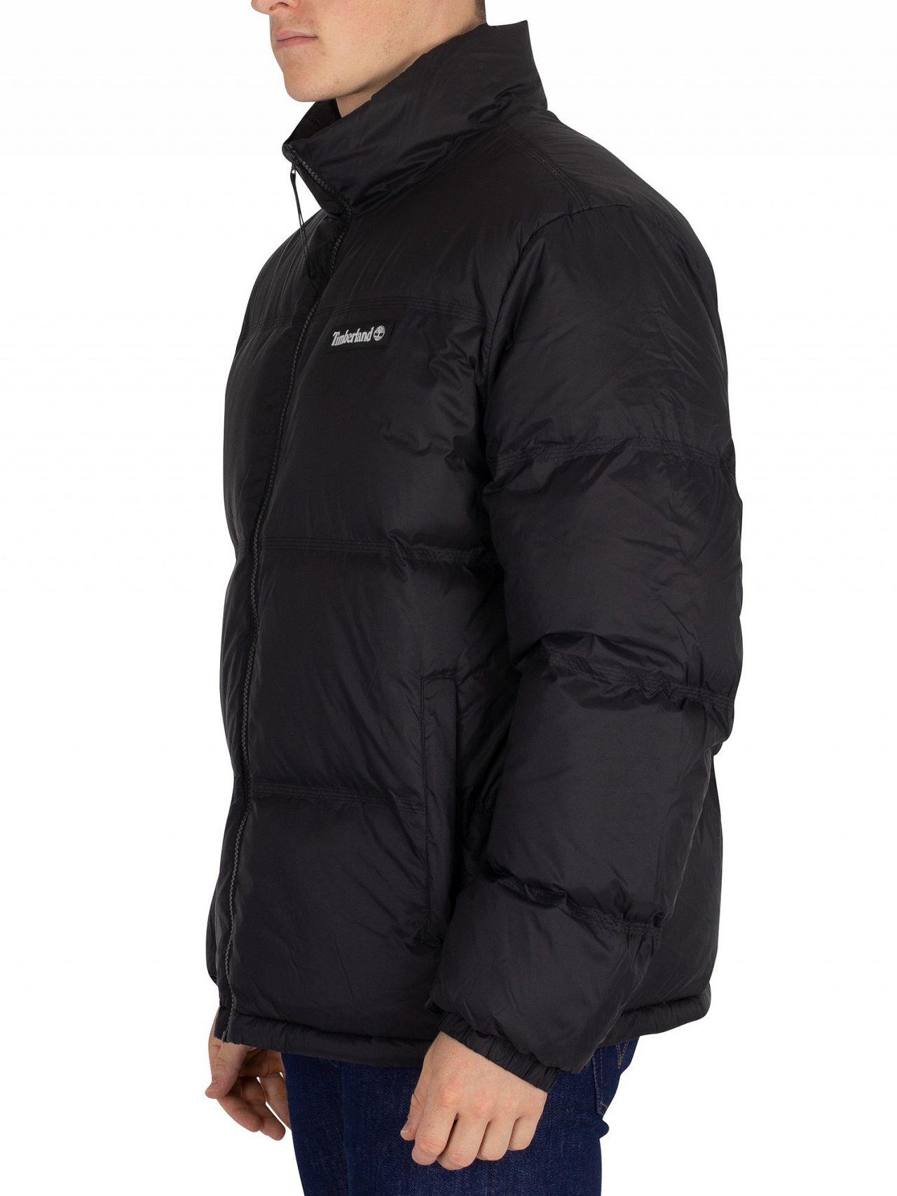 3b4400e8f1ab Timberland Black Down Puffer Jacket