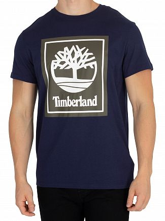 Timberland Black Iris Graphic T-Shirt