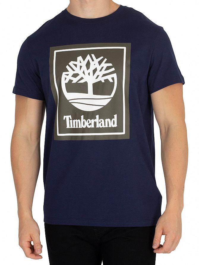 Timberland Black Iris Graphic T-Shirt