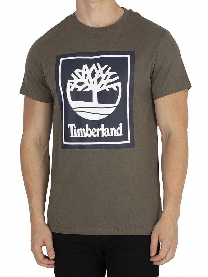Timberland Grape Leaf Graphic T-Shirt