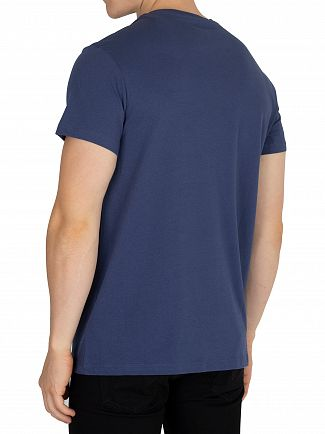 Timberland Dark Denim Graphic T-Shirt
