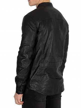 Religion Black Decade Leather Jacket