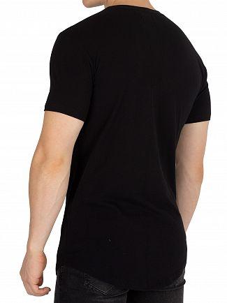 Religion Black Thistle Skeleton T-Shirt