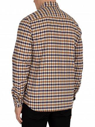 Aquascutum Vicuna Flannel Shirt