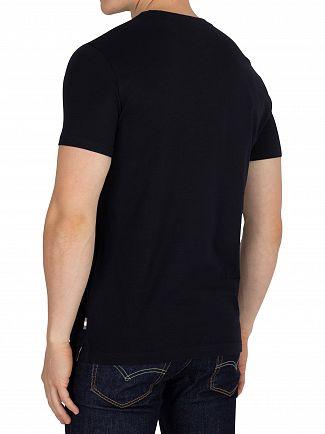 Aquascutum Navy Griffin T-Shirt