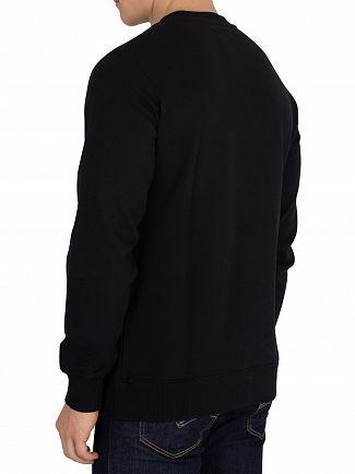 Calvin Klein Jeans Black Core Monogram Sweatshirt