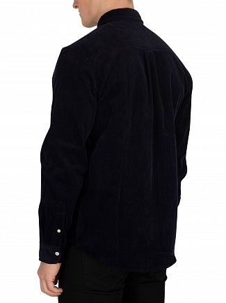 Carhartt WIP Dark Navy/Wax Madison Cord Shirt