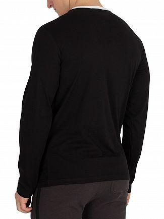 Diesel Black Justin Longsleeved T-Shirt