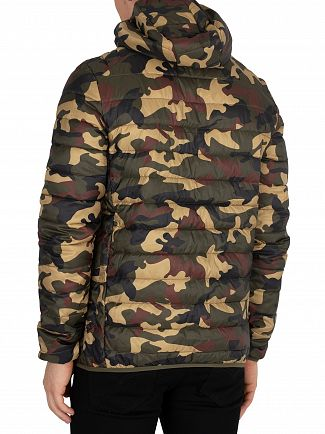 Ellesse Camo Lombardy Padded Jacket