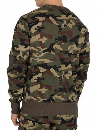 Ellesse Camo Print Succiso Sweatshirt