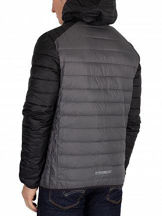 Ellesse Grey Two Tone Lambardy Jacket
