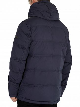 Hackett London Navy Classic Down Jacket