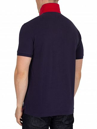 Hackett London Navy Classic Poloshirt