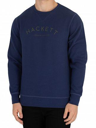 Hackett London Navy Classic Sweatshirt