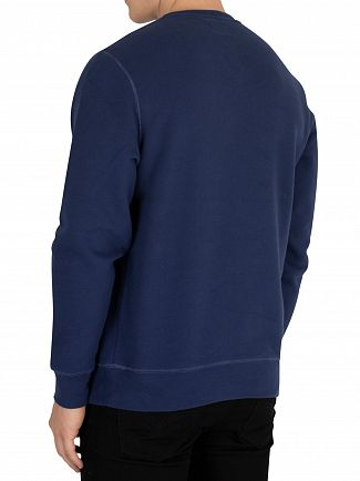 Hackett London Navy Classic Sweatshirt