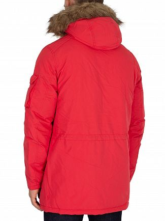 Jack & Jones Scarlet Latte Parka Jacket