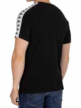 Kappa Black/White Coen Slim T-Shirt
