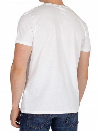 Kappa White Estessi Slim T-Shirt