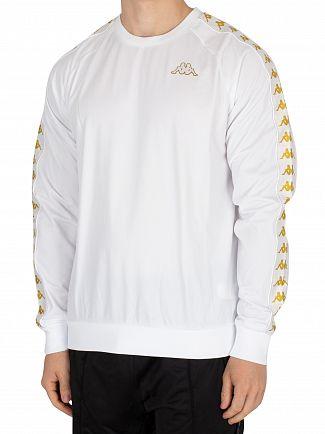 Kappa White/Gold Ghiamis Sweatshirt