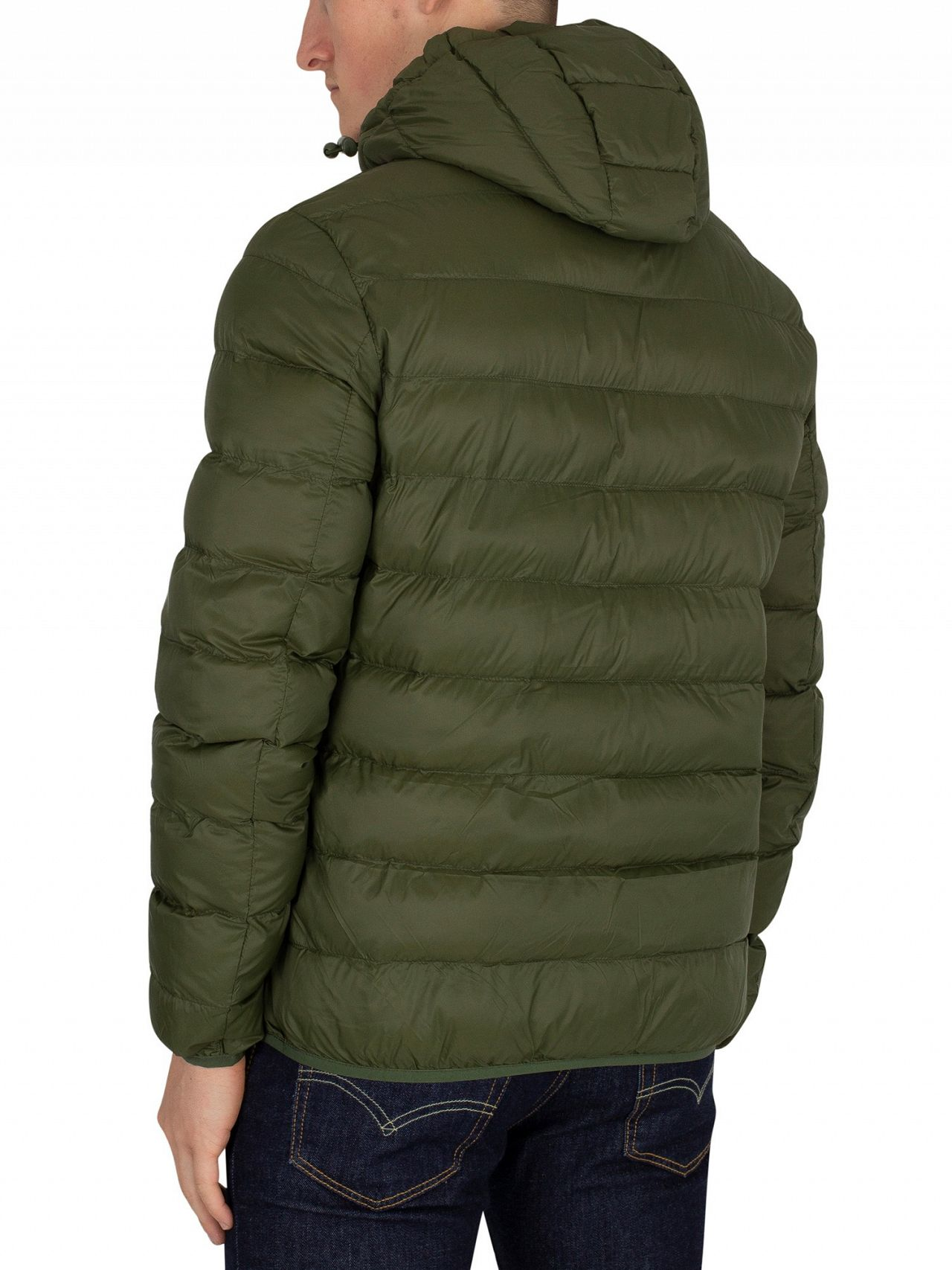 05f95243fd12 Lyle & Scott Woodland Green Lightweight Puffer Jacket | Standout