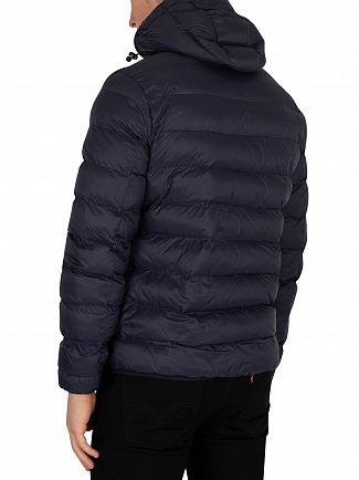Lyle & Scott Dark Navy Lightweight Puffer Jacket