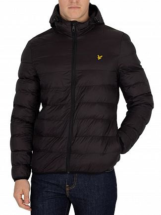 Lyle & Scott True Black Lightweight Puffer Jacket