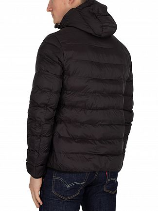Lyle & Scott True Black Lightweight Puffer Jacket