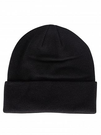 Lyle & Scott True Black Logo Beanie